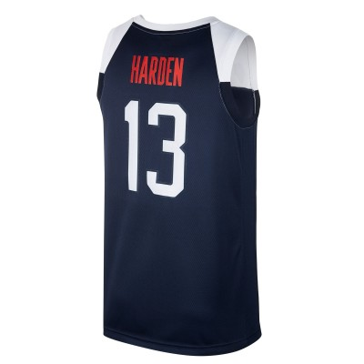 Nike USA Jersey Limited Road 'Harden' AV3826-454