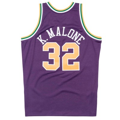 Mitchell & Ness Malone Swingman Jersey Road 'Jazz' SMJYCP18005