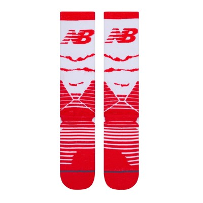 Stance x New Balance Omnius Crew 'Red'-M557C19OMS-RED