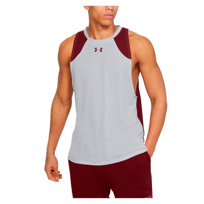 Under Armour Baseline Performance Tank 'Grey'-1326706-015