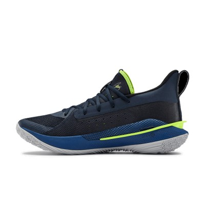 Under Armour Curry 7 GS 'Dub Nation'-3022113-405