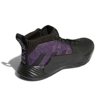 ADIDAS Dame 5 Jr 'Black Panther' EG2627