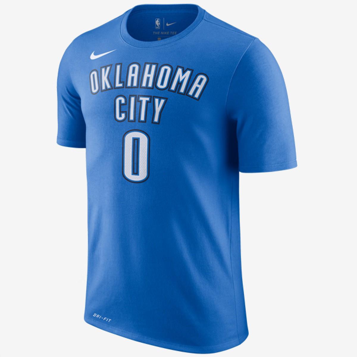 Nike NBA OKC Tee Russell Westbrook 'Icon Edition'