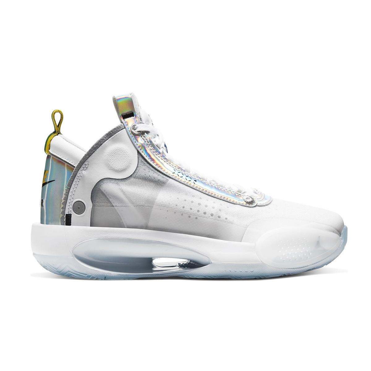 clon Es decir dinámica  Buy Air Jordan 34 GS 'White Iridiscent' Basketball shoes & sneakers
