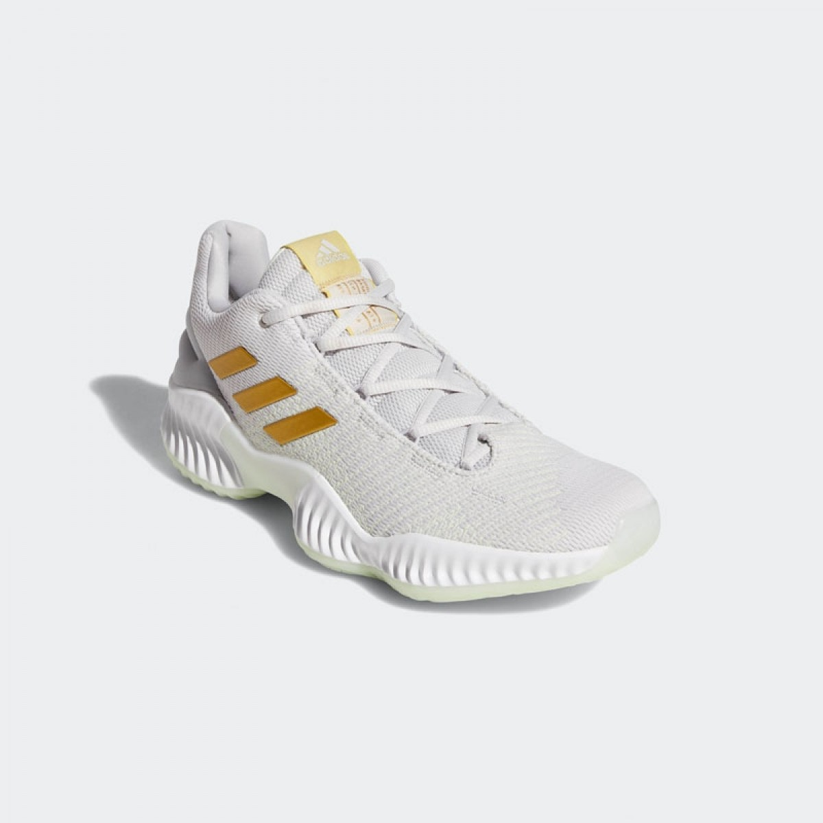 27a9d59e98d7c Buy ADIDAS Pro Bounce Low  Gold Ice  Basketball shoes   sneakers