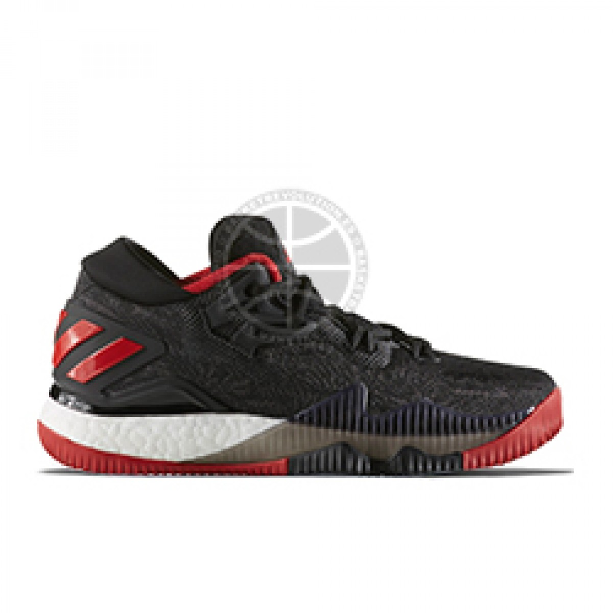 726d69b27833 Buy Adidas Crazy Light Boost Low 2016 Jr  Black Scarlet  Basketball ...