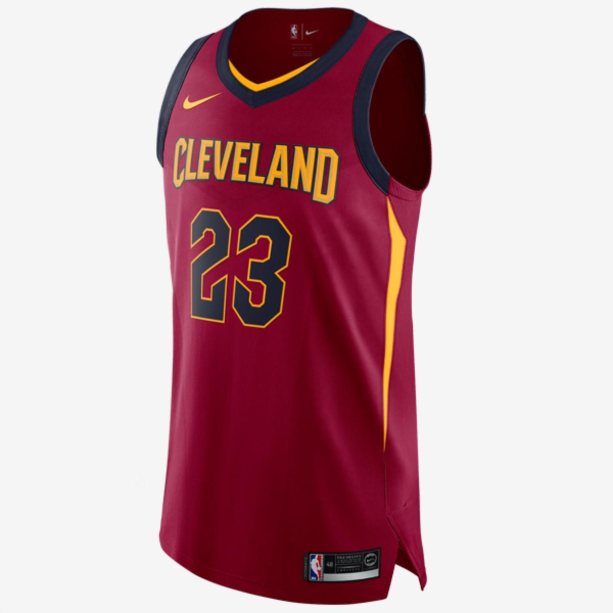 timeless design e330e 7af00 Nike NBA Cavs Authentic Jersey Lebron James 'Icon Edition'