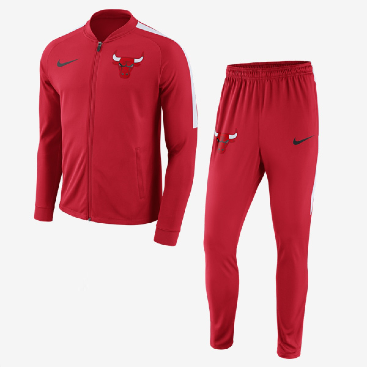 Nike NBA Chicago Bulls Track Suit 'Red'