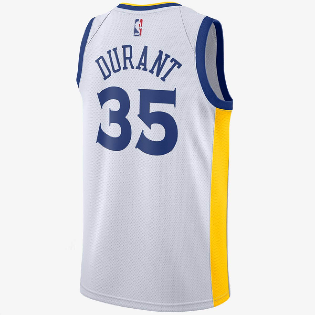 sports shoes 601ee 68a32 Nike NBA Warriors Swingman Jersey Kevin Durant 'Association Edition'