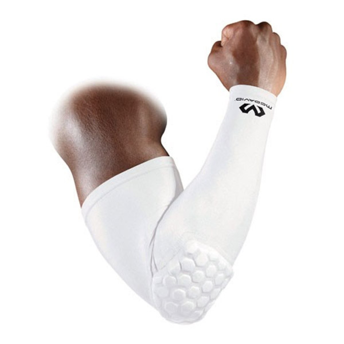 McDavid Compression sleeves with protection 'White'