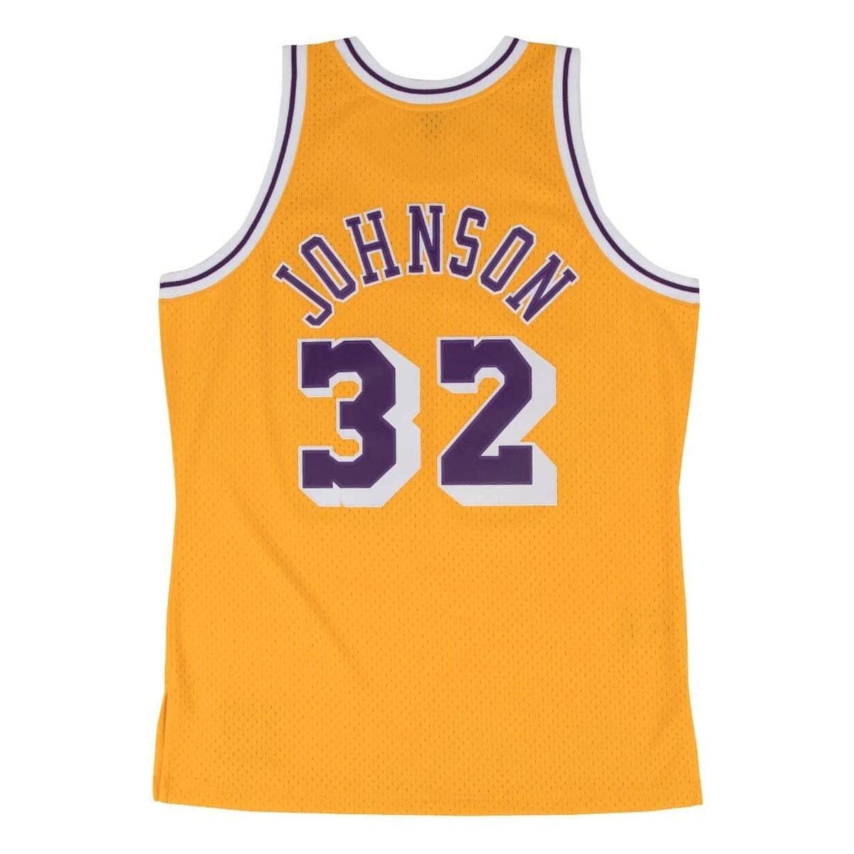 Mitchell & Ness Johnson Swingman Jersey Away 'Lakers' SMJYGS18175