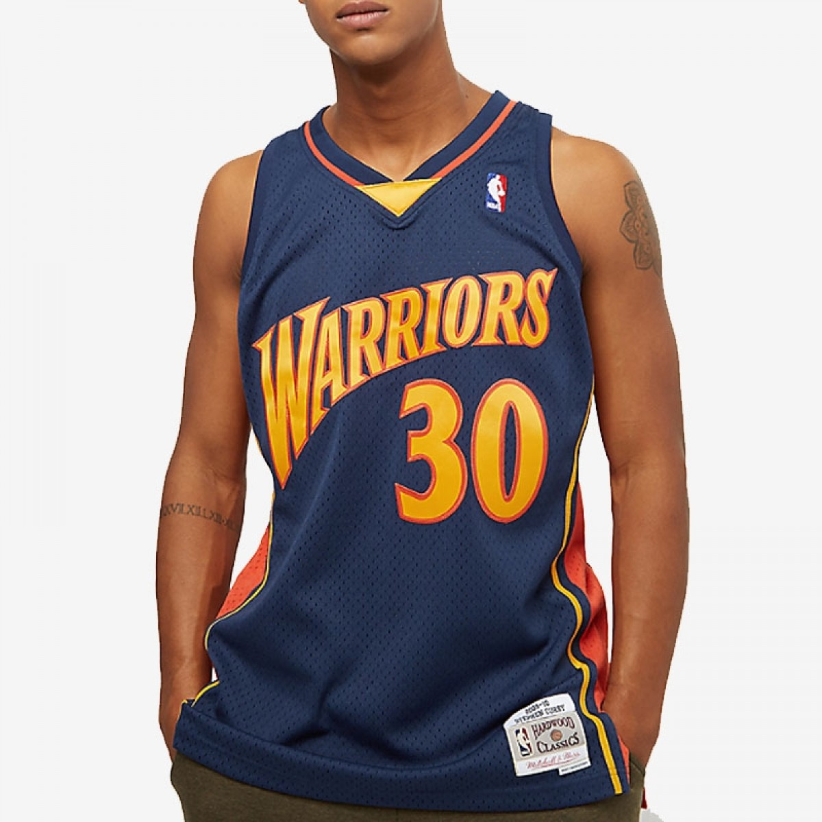 buy online 159d1 2da9f Mitchell & Ness Stephen Curry Swingman Jersey Away 'Warriors'