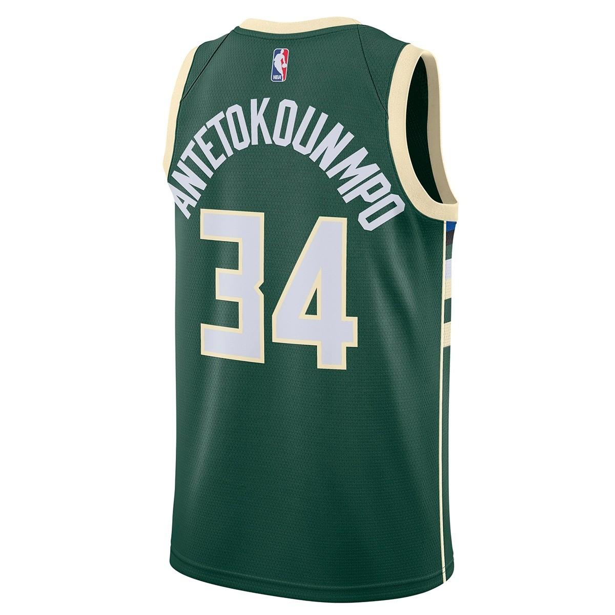 5619d4a95ee Nike NBA Bucks Swingman Jersey Antetokounmpo  Icon Edition  864489-323