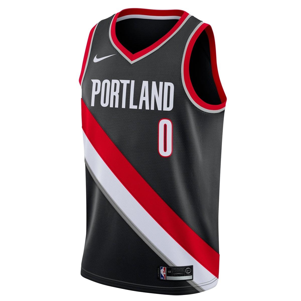 Nike Junior NBA PTB Swingman Jersey Lillard 'Icon Edition'