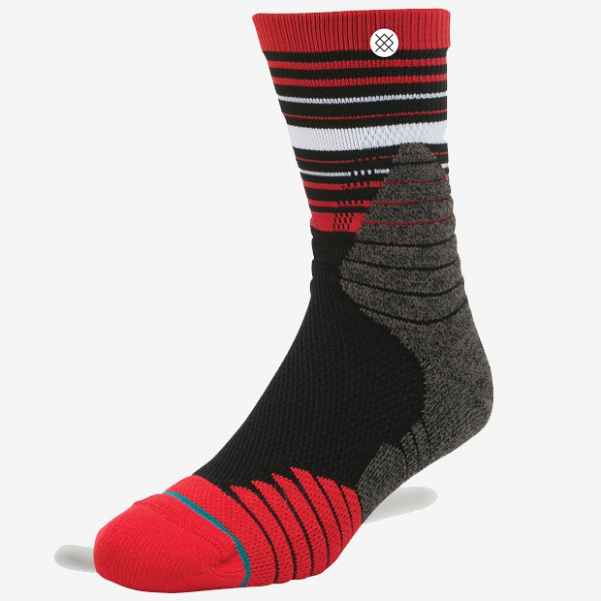 Stance Trey Socks 'Red'