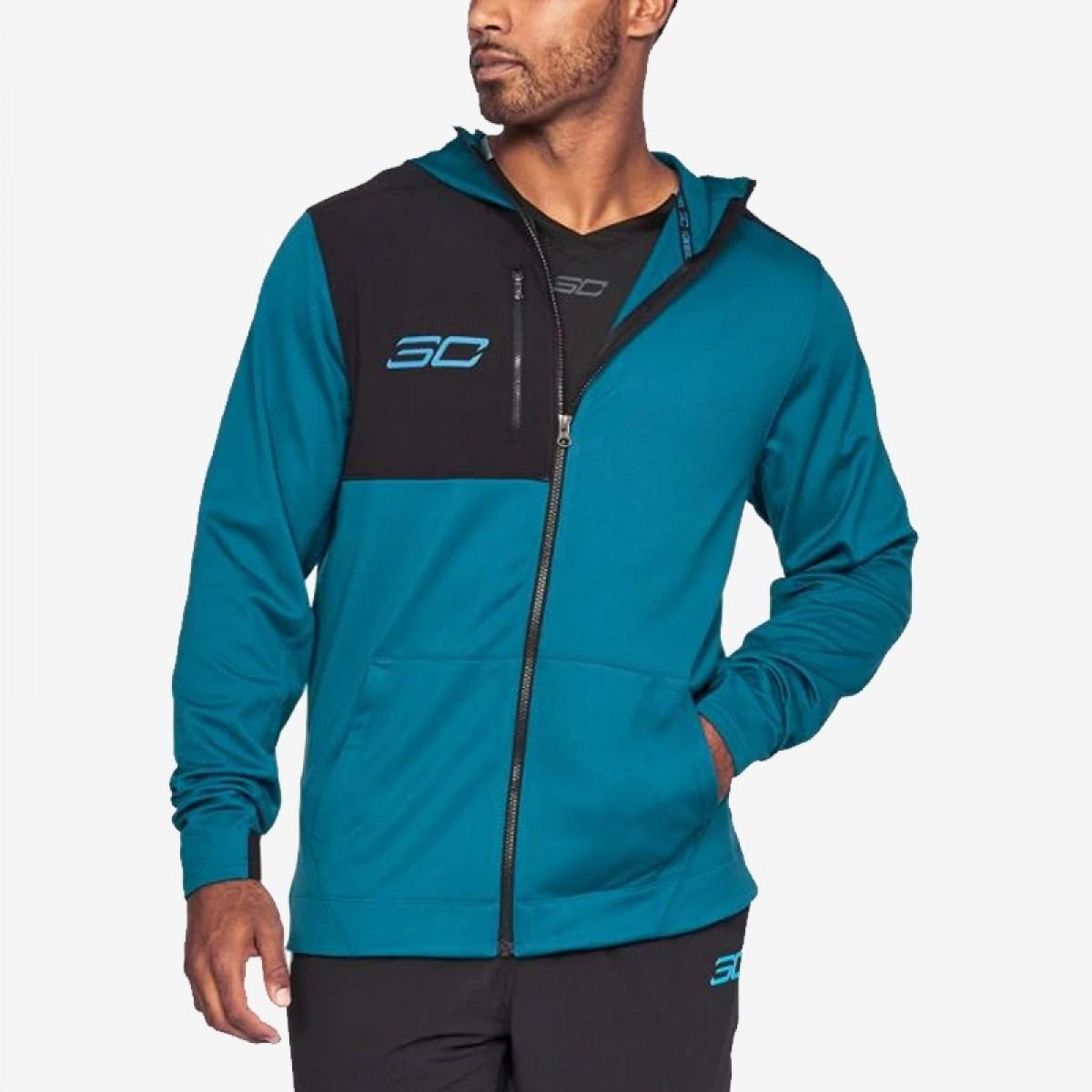 UA SC30 Warm Up Jacket 'Blue'