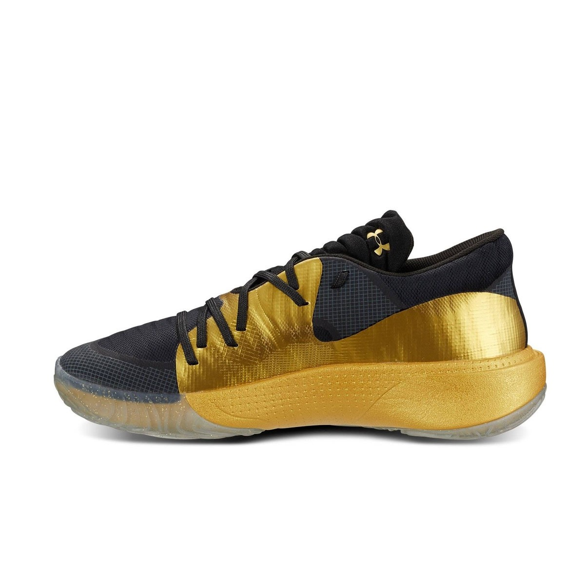 under armour UA Spawn Low Black Metallic Gold Metallic